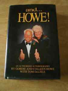 Gordie Howe SIGNED book AUTOGRAPH Colleen Howe