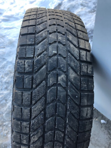 4x pneus d'hiver 245/70R17 108s Firestone Winterforce