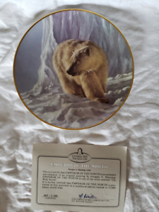 Emperor of the North Collector Plate  - Christian Bell