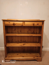 Golden Pine bookcase