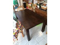 Dining Table solid wood 5ft x 3 ft