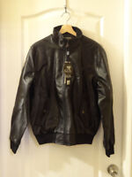 Leather Jacket (Brand New)