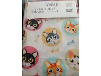 Kids Fitted Sheet High Quality 100% Cotton