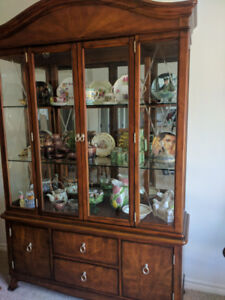 Walnut China Cabinet for Sale