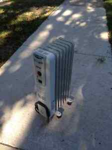 Portable space heater