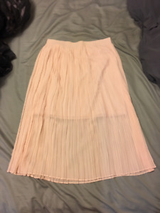 Long Pink Flowy Skirt - Never Worn - $20 (negotiable)