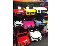 Audi,Bentley, Ford Rangers, Mercedes, Range Rovers, Largest Selection Of Ride-On Cars,