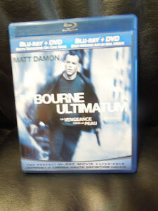 The Bourne Ultimatum-Blu-Ray&DVD on 1 disk: HI-DEF