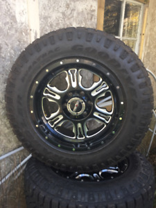 Goodyear Wrangler Duratrac Tires 265/65 R18 and Offroad Wheels