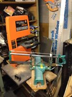 Drill powered band saw