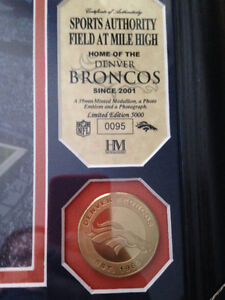 Denver Broncos Stadium picture, plus coin Stratford Kitchener Area image 2