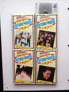Kellogg's Pop-Tarts Future Rock audio cassettes 1991