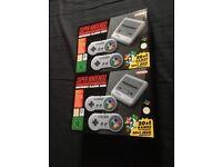 Brand New Super Nintendo Classic Mini
