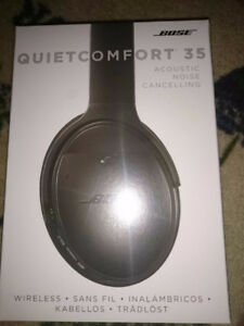 Bose QuietComfort 35 Black Wireless Headphone Authentic BrandNew