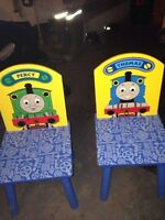 Thomas the Tank Engine table and chairs
