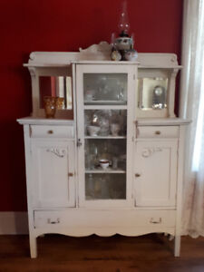 Antique cabinet,  shabby chic