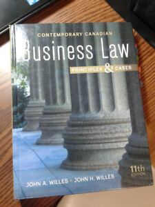 Bussiness Law Principles & Cases