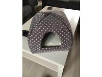 (BRAND NEW) Grey Cat Igloo Bed