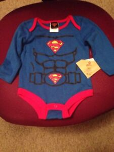 Superman Onesie New w/ Tags