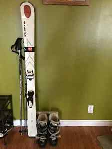 Women's Skis, Boots and Poles