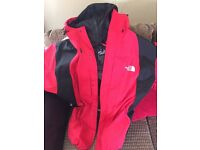 North face gortex jaket