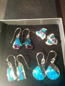 Jewelry - earrings - Sterling Silver West Island Greater Montréal image 1