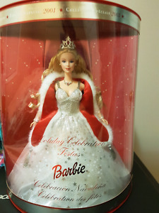 2001 Special edition Holiday Celebration Barbie