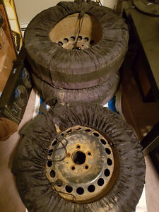 195/65R15 - Winter Tires on Rims in Tire Bags **Price Reduced