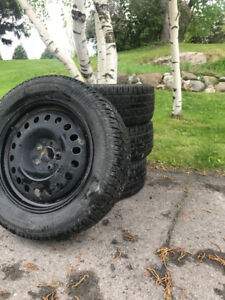 Artic Claw 18'' winter tires with winter rims