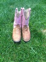 Kid's western riding boots