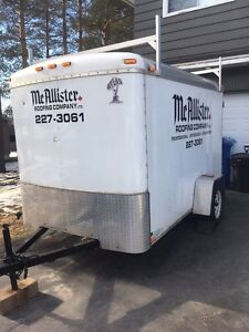 2008 Atlas Enclosed Trailer 6x10