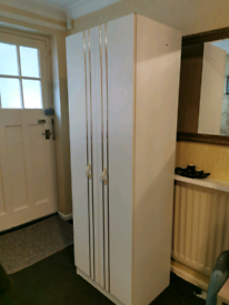 White Gloss bedroom wardrobe