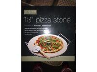 "13"" pizza stone new in box"