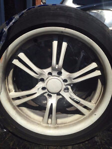 Used rims and tires combo (set of 4)