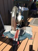 "12"" Bosch compound mitre saw"