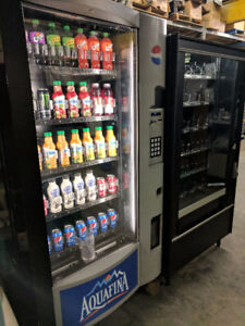 Vending Machines, Pepsi, Coke, Snack, Combo