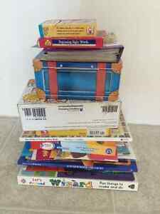 Children's early learning books.