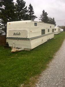 37 ft Belair camper trailer