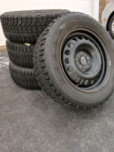 Winter tires with rims from chev cruze 215/60R17