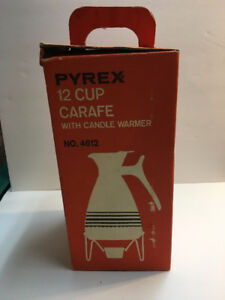Vintage Pyrex carafe in the box