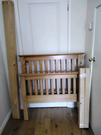 Chunky Solid Pine Single Bed Julian Bowen Excellent Quality Can Delive