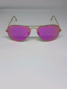 RAYBAN RB 3025 PINK FLASH AVIATOR SELLING CHEAP! ONLY. $70!!!