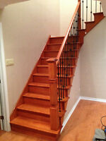 Carpentry-stairs-kitchen cabinets-balcony-floors-wood finishing