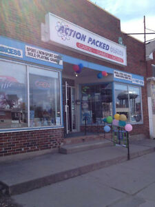 "Action Packed Comics & Games  ""Where the Actions @"" 613-547-5730"