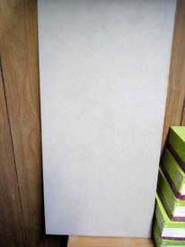 Wall/ floor tiles. 600x300 Johnson's Tiles Ecru Matt