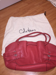 Cole Haan Coral Coloured Hobo Bag
