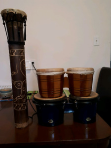 3 sets of Bongos for sale.