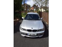 BMW 320 COUPE E46 2004 2.2L only 56,000 miles