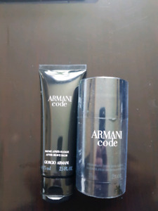 Giorgio Armani After Shave/Deodorant Combo Priced to sell!
