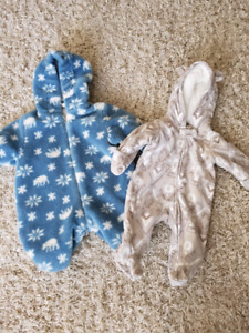 Cozy Baby Buntings for Fall and Winter